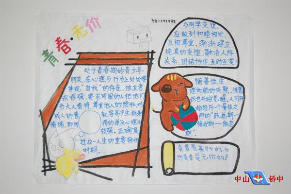 教师宣传团队手绘图