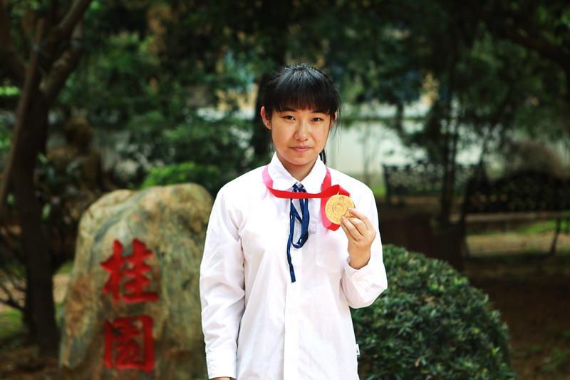 我校杨靖同学获评全国 最美中学生