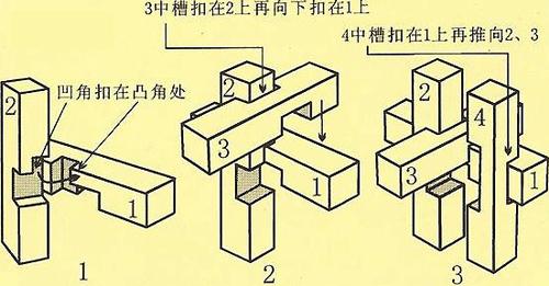 4孔明锁图解